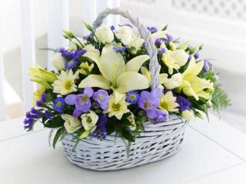 Melody Basket Arrangement