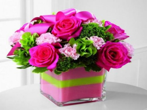 Pink Love Arrangement