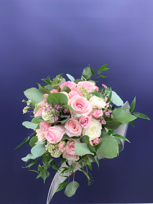 Sweet Pink Bridal Bouquet (19-131)