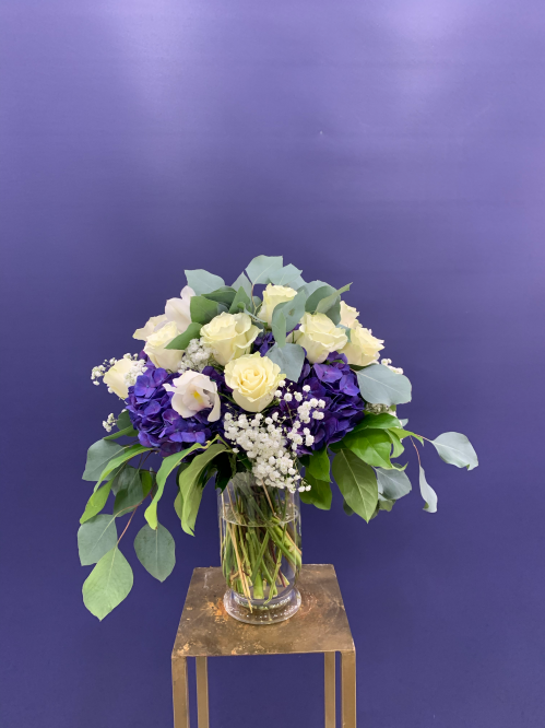 Blue ocean stars Vase Arrangement (20-108)