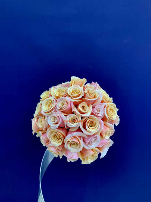 Peach Rose Bouquet (1912)
