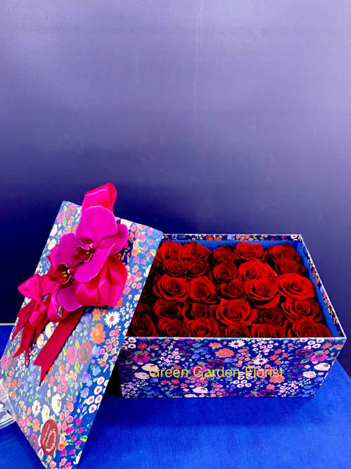 Red Rose Box (19-108)