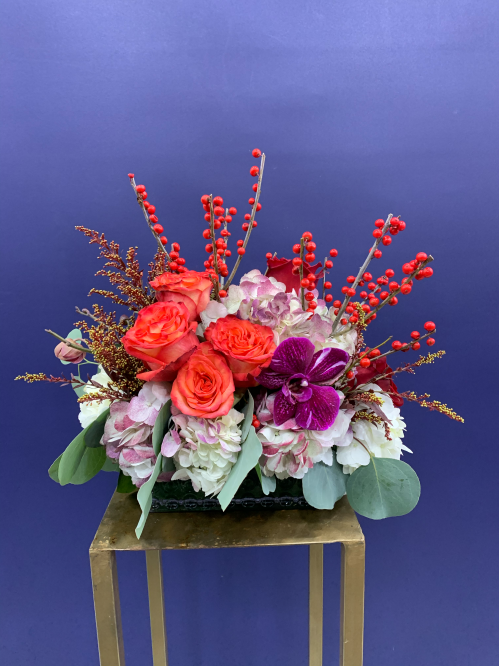 Orange Smile Arrangement (20-117)