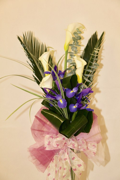Calla Lily and Irise Bouquet (1940)