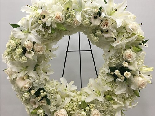 Forever Wreath Arrangement