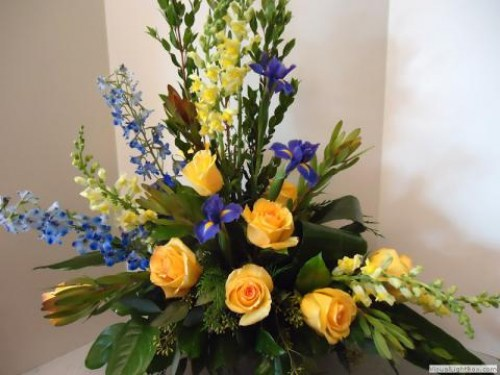 Sun and Moon Arrangement